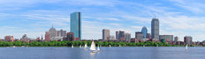 Boston Charles River Mural Wallpaper