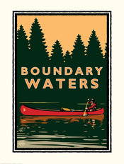 Boundary Waters Wall Mural