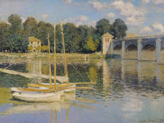 The Bridge At Argenteuil Wallpaper Mural