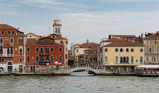 Bridge in Venice Mural Wallpaper