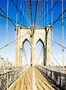 Brooklyn Bridge Mural Wallpaper