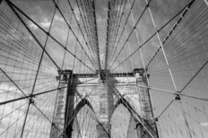 Brooklyn Bridge New York City Mural Wallpaper