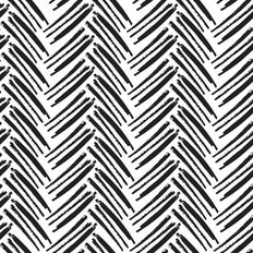 Brush Herringbone Pattern Wallpaper