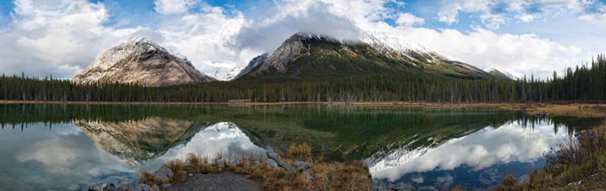 Buller Pond, Kananaskas Country, Canada Wall Mural