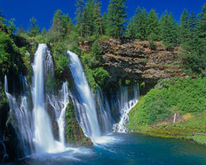 Burney Falls - California Wallpaper Mural