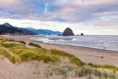 Cannon Beach Sunrise Wallpaper Mural