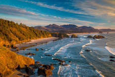 Cannon Beach View Wall Mural