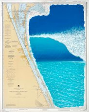 Cape Canaveral Surfing Wall Mural