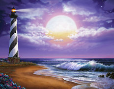 Cape Hatteras Mural Wallpaper