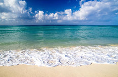 Caribbean Clear Beach Wallpaper Mural