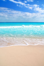 White Sand Beach Wallpaper Mural