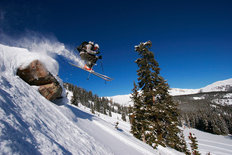 Catching Air In Monarch Pass Wall Mural