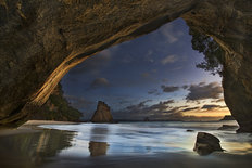 Cathedral Cove Wallpaper Mural