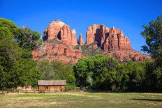 Cathedral Rock In Sedona Arizona Wallpaper Mural