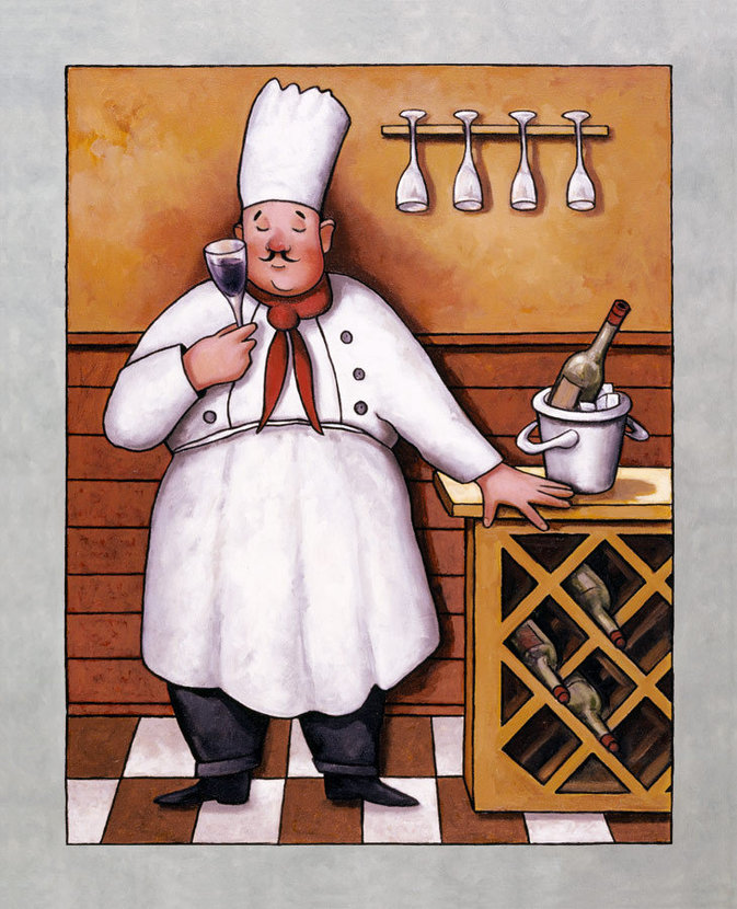 Chef 2 Wall Mural