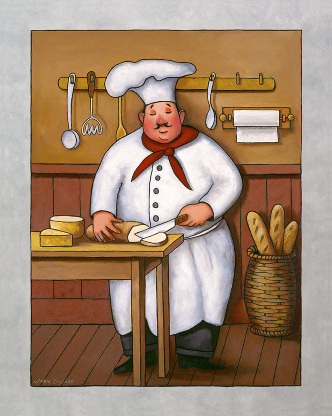 Chef 3 Wall Mural