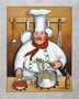 Chef 4 Wall Mural
