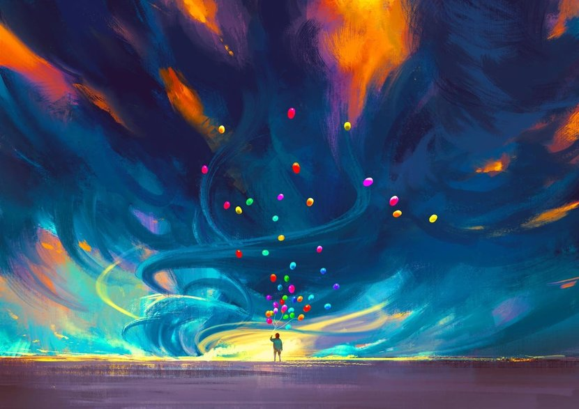 Child-Holding-Balloons-In-Front-Of-Fantasy-Storm-Wall-Mural.jpg