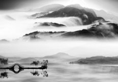 Chinese Landscape Mural Wallpaper