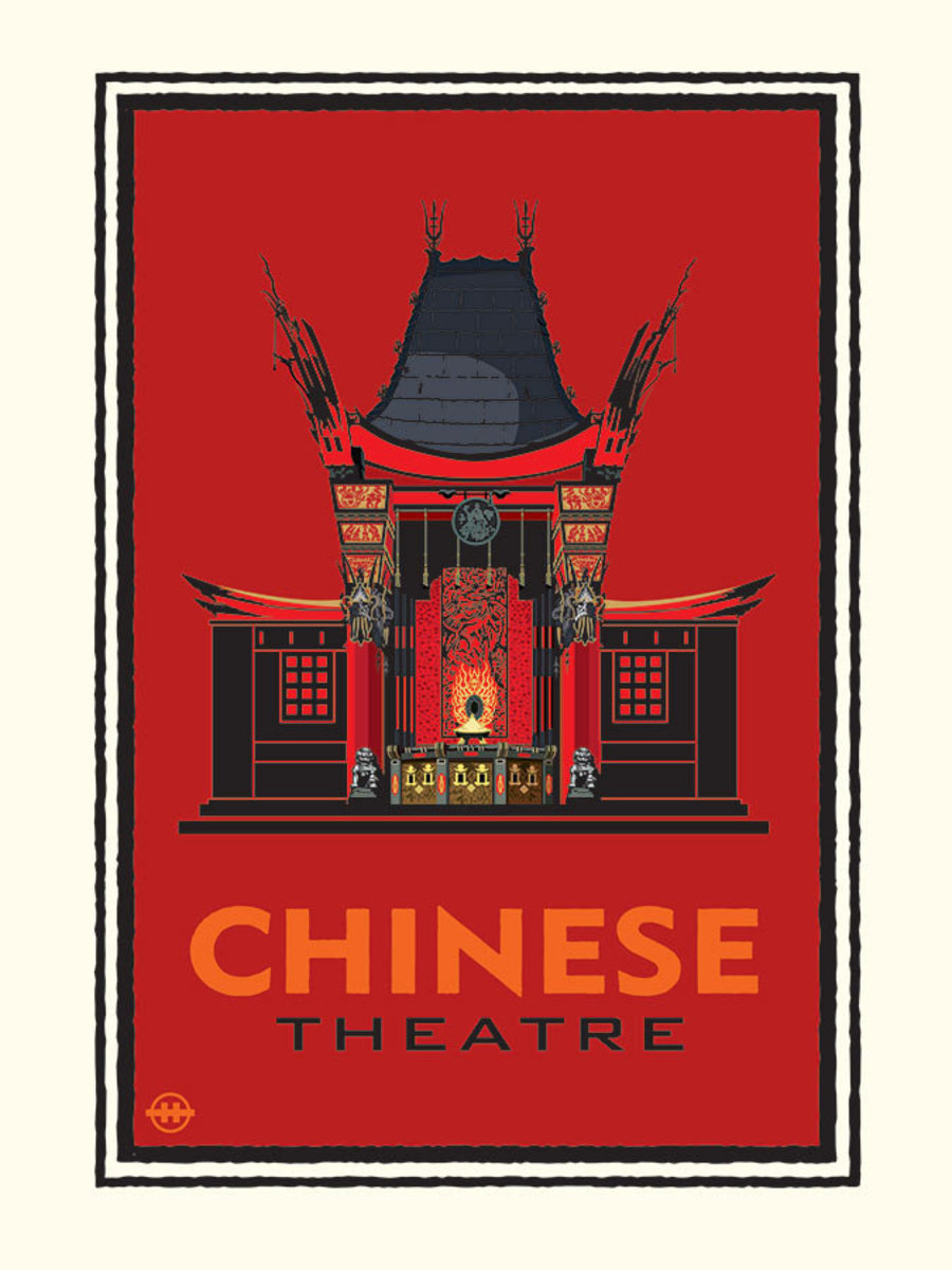 Chinese Theater Wallpaper Mural