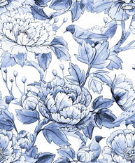 Chinoiserie Flowers And Birds Wallpaper