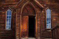 Church Door Mural Wallpaper