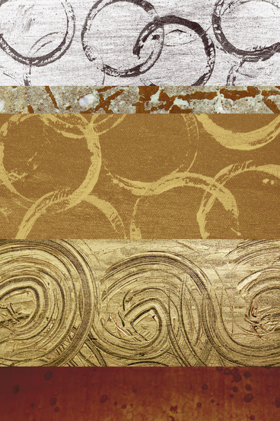 Circles In The Sand 2 Mural Wallpaper