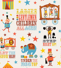 Circus Greatest Show Wallpaper