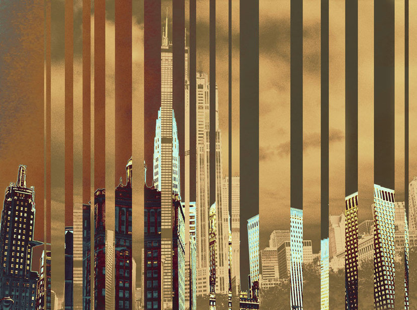 City Of Gold Wall Mural