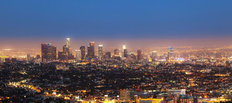 City View Of Los Angeles Wall Mural