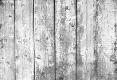 Close Up Of Gray Wooden Fence Wall Mural