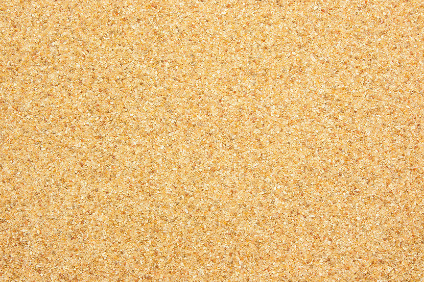 close up view of coarse sand texture