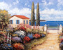 Coastal Garden Walk Wall Mural