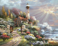 Coastal Splendor Wall Mural