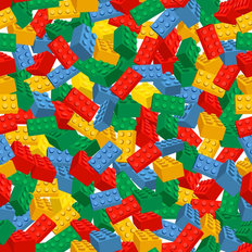 Colorful Background Made Of Pieces Wallpaper