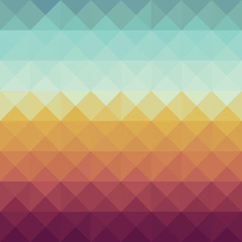 Colorful Triangle Pattern Wallpaper