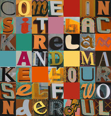Come In Sit Back Wallpaper Mural