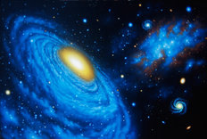 Compact Group Of Galaxies Wall Mural