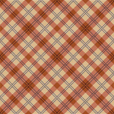Coral Plaid Pattern Wallpaper
