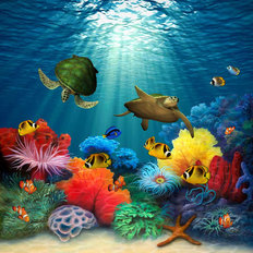 Coral Sea Mural Wallpaper