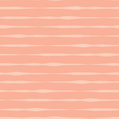 Coral Stripes Pattern Wallpaper