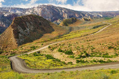 Cottonwood Canyon Road Mural Wallpaper