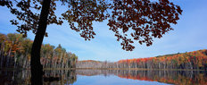 Coucil Lake, Upper Peninsula, Michigan Mural Wallpaper