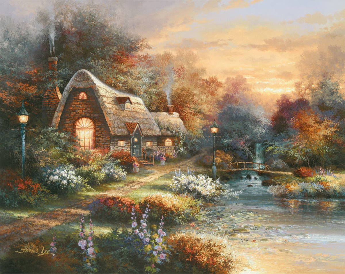 Country Quiet Wall Mural
