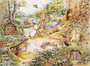 Country Woodlands  Wall Mural