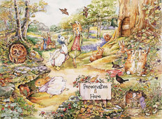 Country Woodlands 2 Wallpaper Mural