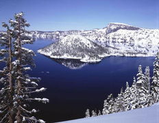 Crater Lake I Wallpaper Mural