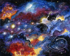 Creation Of Universe Wallpaper Mural