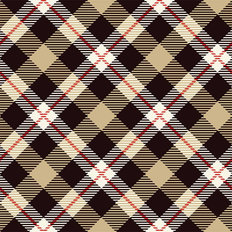 Crisscross Buffalo Check Wallpaper