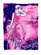 Cycle Minnesota Wall Mural
